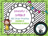 ABC Order First Grade Journeys Unit 4