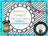 ABC Order First Grade Journeys Unit 5