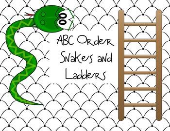 ABC Order Game--Freebie