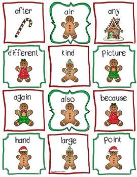 ABC Order Gingerbread Theme Literacy Center