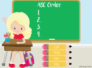 ABC Order (Great for Google Classroom!)