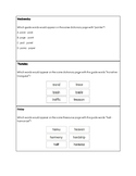 ABC Order & Guide Word Exit Tickets