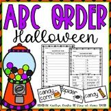 ABC Order Halloween