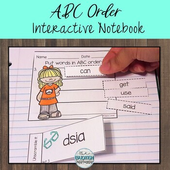 ABC Order Interactive Notebook