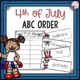 ABC Order-July