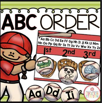 ABC ORDER LITERACY CENTER
