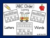 ABC Order / Learning how to put letters and words in ABC order / Sight Words