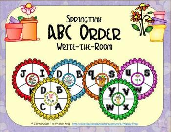 ABC Order: Letters Edition (April)