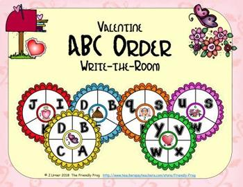 ABC Order: Letters Edition (February)