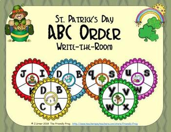 ABC Order: Letters Edition (March)