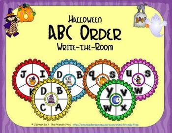ABC Order: Letters Edition (October)