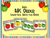 ABC Order: Letters Sequencing Lower-case (September)