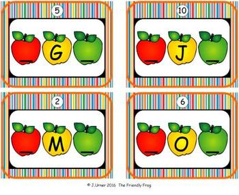 ABC Order: Letters Sequencing Upper-case (September)