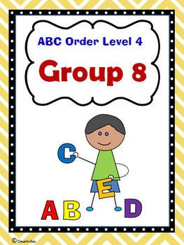 ABC Order Level 4