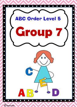 ABC Order Level 5