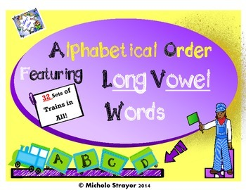 ABC Order Long Vowel Word Families