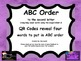 ABC Order Magic/Silent E Words INDEPENDENT word work with QR CODES for centers