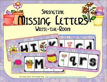 ABC Order: Missing Letters (April)