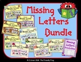 ABC Order: Missing Letters Bundle for All Year
