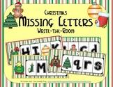 ABC Order: Missing Letters (December)