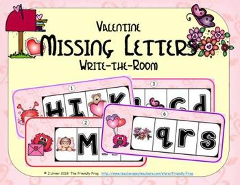 ABC Order: Missing Letters (February)