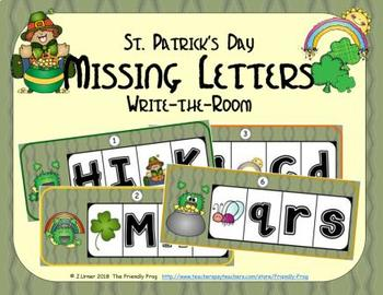 ABC Order: Missing Letters (March)