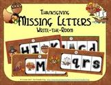 ABC Order: Missing Letters (November)
