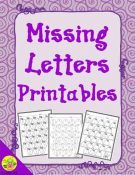 ABC Order: Missing Letters Printables