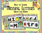 ABC Order: Missing Letters (September)