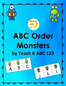 ABC Order Monsters