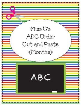ABC Order (Months)