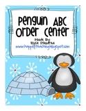 ABC Order Penguin Activity