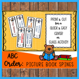 ABC Order: Picture Book Spines