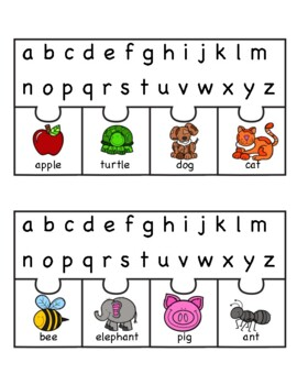 ABC Order - Picture/Word