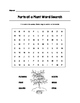 Parts of a Plant Word Search Color/B&W (Grades K-2)