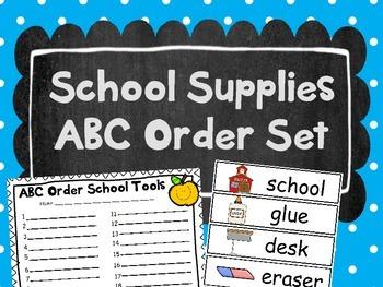 Print-N-Practice ABC Order and Vowel Sorts by Johnston Digital Designs