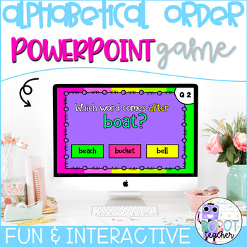 ABC Order PowerPoint Game