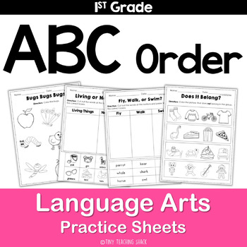 ABC Order Practice Pages