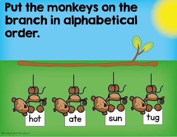 ABC Order Practice for Google Slides (Alphabetical Order)