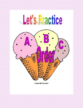 ABC Order Practice to the Third Letter Printable Worksheets