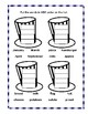 ABC Order Practice to the Third Letter Printable Worksheet