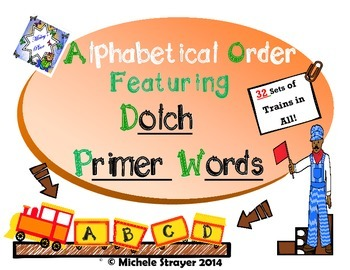 ABC Order  Primer Dolch Words