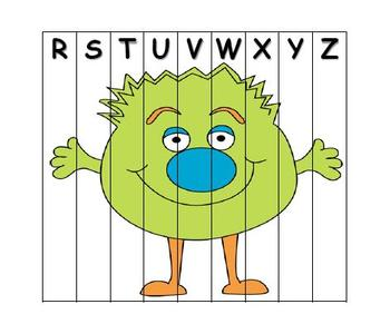 ABC Order Puzzle Monster