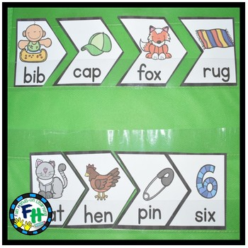 ABC Order Puzzles (Using Easy CVC Words)