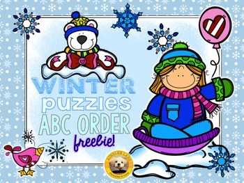 ABC Order Puzzles: Winter Edition