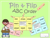 Self-Checking Word Work Center- ABC ORDER