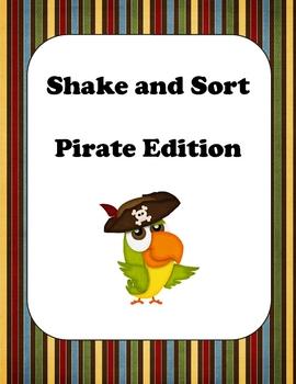 ABC Order - Shake and Sort Pirates