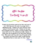 ABC Order Sorting Center