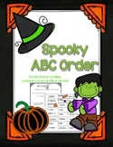 ABC Order Spooky