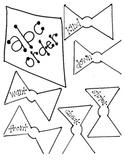ABC Order Spring Kite Craft